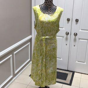 Ashley Stewart midi dress plus size 22 used